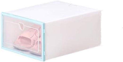 Lanbowo Zapato Caja Transparente Plástico Zapato Caja FILP Diseño ...