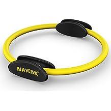 Nayoya Wellness Pilates Ring - Premium Power Resistance Full Body Toning Fitness Circle