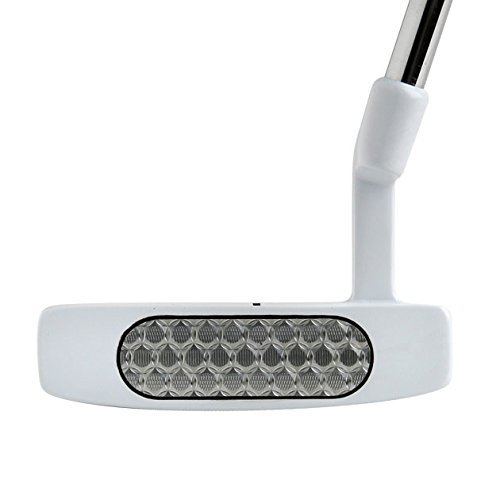 Bionik 105 Nano White Golf Putter Right Handed Semi Mallet Style with Alignment Line Up Hand Tool 33 Inches Petite Lady's Perfect for Lining up Your Putts by Bionik (Image #3)