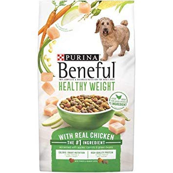 Purina Beneful* Healthy Weight with Real Chicken Adult Dry Dog Food (15.5 lb, 1 Bag)