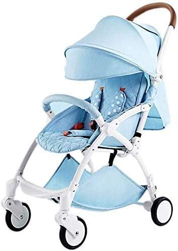 Tricycle Kids TRIKE 2021 Nuevo carro de peso ligero automático, plegable ligero, sentado y reclinación, plegable automático, 0-2 años de edad carro de bebé Cochecito de triciclo de bebé Silla de empuj