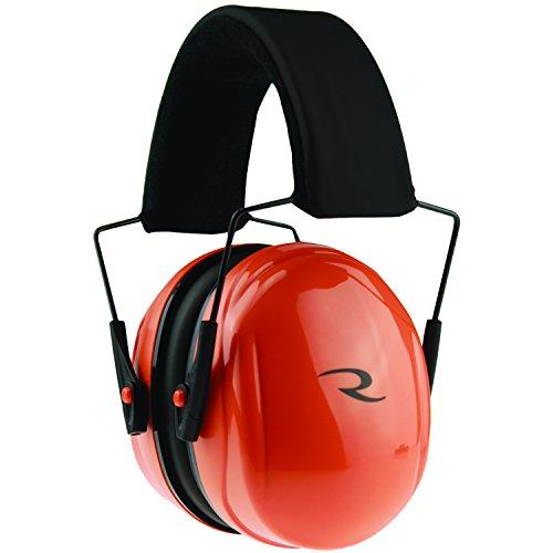 Hi Earmuffs Viz (Radians Turbulence Ear Muff, Hi-Viz Orange)