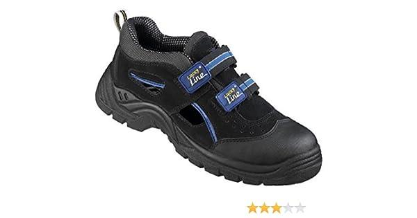Cofra de seguridad sandalias de Asgard 13010-001 Vithar S1 P ESD ideal en verano Negro 13010-001 colour negro