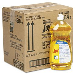 Joy 45114CT Dishwashing Liquid 38 oz Bottle 8/Carton