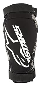 Alpinestars Alps Kevlar Elbow Guard, Small/Medium, Black/White