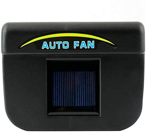 Ventilador solar para el parabrisas del coche: Amazon.es: Coche y moto