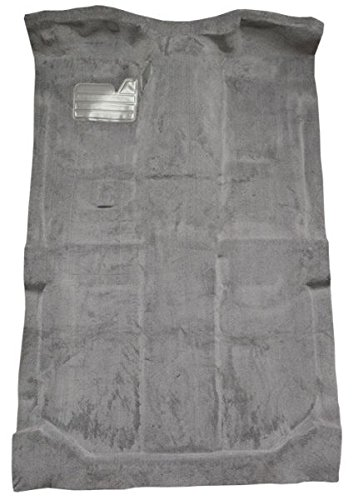 Carpet Kit Compatible with 1992 to 1998 GMC Yukon XL Suburban, Without Heat Vents, Passenger Area Only (8075-Medium Grey Plush Cut Pile)