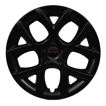 Kit 4 Tapacubos faradios Color Negro Brillante Tamaño 15 pulgadas: Amazon.es: Coche y moto