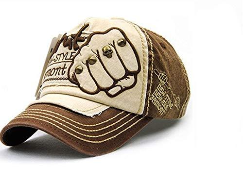 ユニセックスメンズ野球帽女性コットンカジュアルキャップ夏の帽子男性帽子,no6,調節可能な