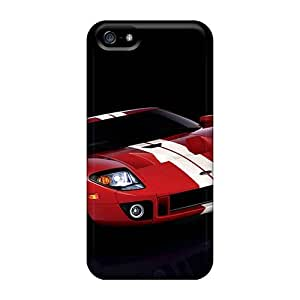 ChriDD Iphone 5/5s Hybrid Tpu Case Cover Silicon Bumper Ford Gt