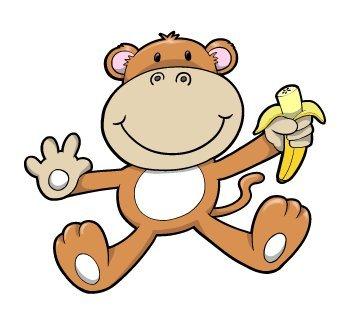 Baby Monkey Picture Cartoon