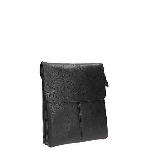 CafèNoir LBX001 Bolso Con Bandolera Hombre Black