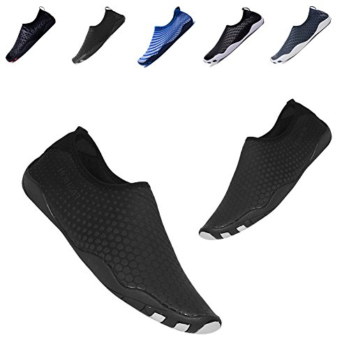 Black Dry Yoga Barefoot Swimming Women's Beach Shoes YALOX Exercise Aqua Bd Water Surfing Men Socks Quick for Outdoor Shoes xwqCwUAP