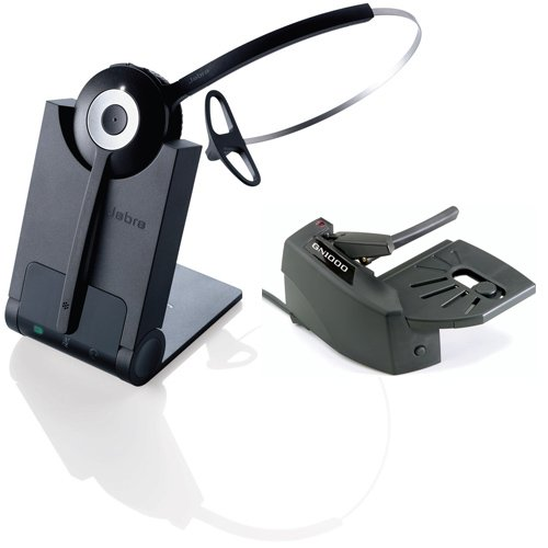 911a12b7847 Image Unavailable. Image not available for. Color: Jabra PRO 920 Mono  Wireless Headset ...