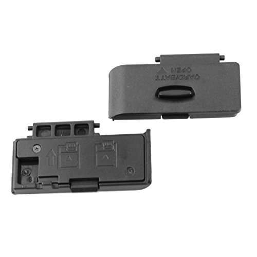 PhotoTrust Battery Door Cover Lid Cap Replacement Repair Part for Canon EOS 1100D EOS Rebel T3 DSLR Digital Camera