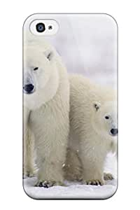 Protection Case For Iphone 4/4s / Case Cover For Iphone(polarbears ) by icecream design