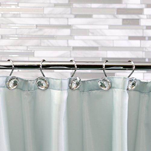 Outlet BINO U0027Crystalu0027 Shower Curtain Hooks, Chrome