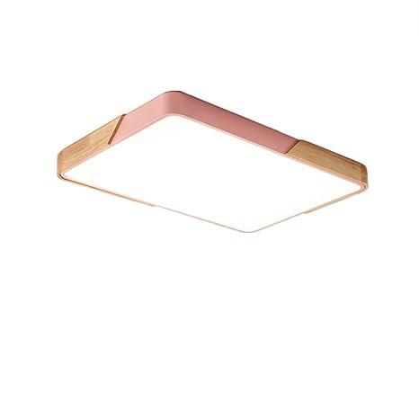 Amazon.com: CUICAN - Lámpara de techo de hierro y madera ...