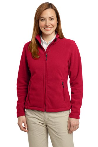 (Port Authority Women's Value Fleece Jacket M True Red)