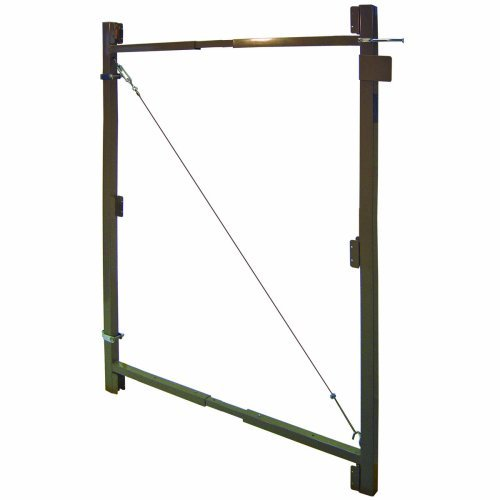Contractor Series Adjust A Gate Kit Width: 36'' - 60'' by Jewett Cameron