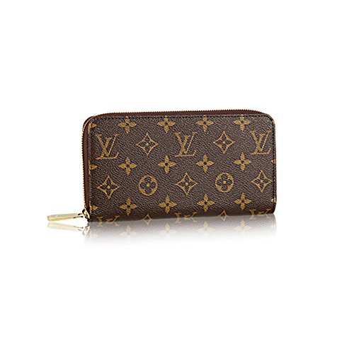 Authentic Louis Vuitton Monogram Canvas Zippy Wallet Article: