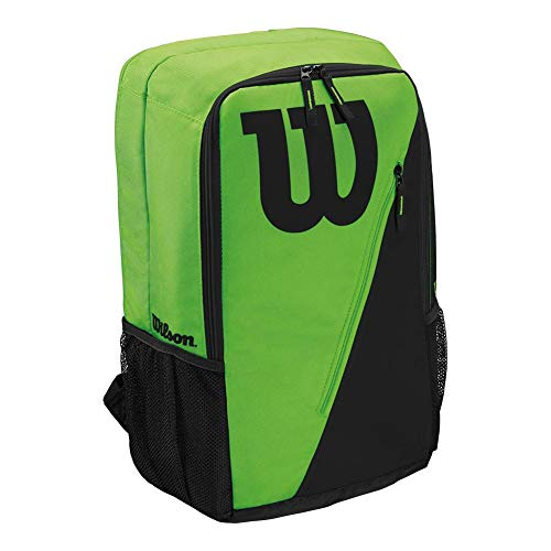 (Wilson Match III Backpack Tennis Bag, Green/Black)