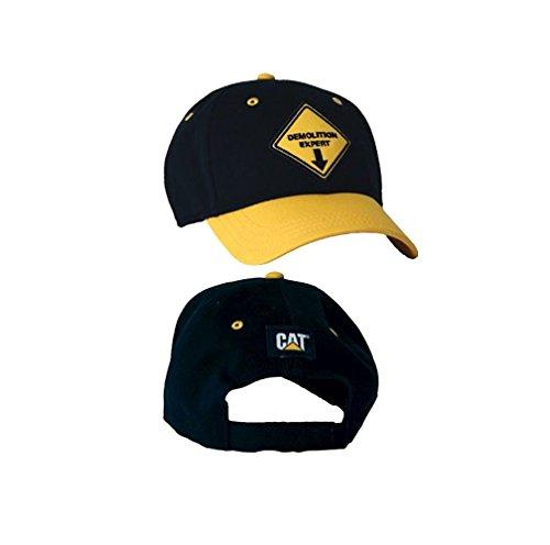 caterpillar-cat-demolition-expert-black-youth-kids-hat