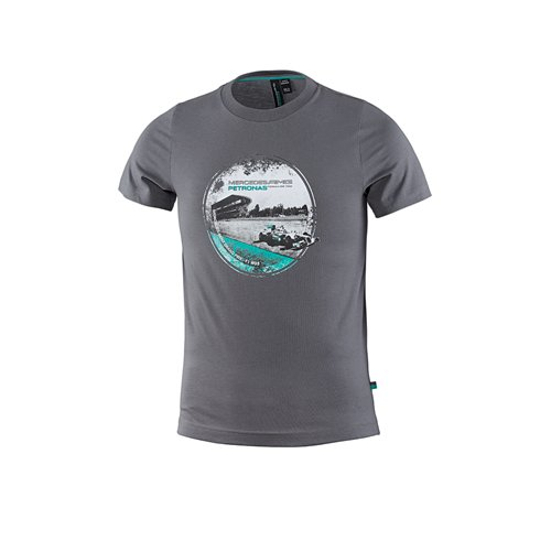 Price comparison product image Mercedes AMG Petronas X-Small Kids' T-Shirt - Grey