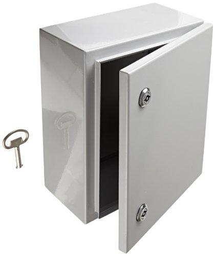 Electrical Weatherproof Lock Box: BUD Industries Electrical Junction Box Lock Outdoor SNB