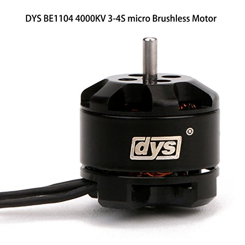 DYS BE1104 6500KV 3-4S micro Brushless Motor For FPV Racing drone Mini Multirotor 100-150mm frame/RC Helicopter Quadco (6500KV)