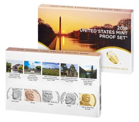 2019 S United States Mint Proof Set with Bonus 2019 W Proof Penny