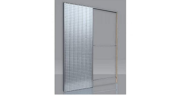 Contramarco para puertas correderas puerta única grosor pared 105 ...