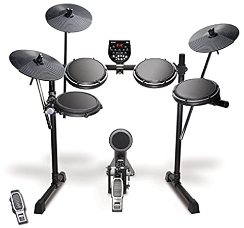 Alesis DM6 USB Kit | Eight-Piece Compact Beginner Electronic Drum Set with 8