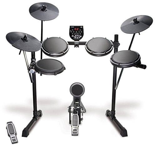 Alesis DM6 USB Kit | Eight-Piece Compact Beginner Electronic Drum Set with 8' Snare, 8' Toms, & 12' Cymbals