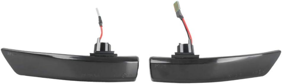 2PCS LED Dynamic Turn Signal Lights Side Wing Rearview Mirror Indicator Blinker Lamp for Fo rd Focus 2 3 Mk2 Mk3 Mondeo Mk4