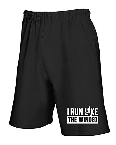 W91 like Nero I grey T dark Tuta front run winded shirtshock Pantaloncini the Wes0913 Rww0gZ7q