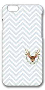 iPhone 6 Plus Case, Customized Slim Protective Hard 3D Case Cover for Apple iPhone 6 Plus(5.5 inch)- Christmas Bg