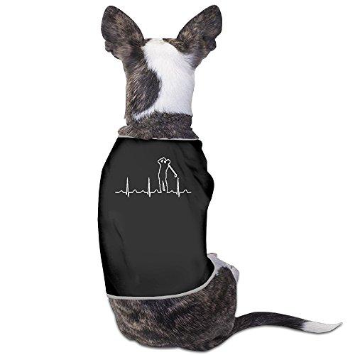 LeeRa Golfer Heartbeat Love Golfers Dog Coats -