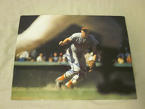 Brooks Robinson Baltimore Orioles Autographed 11