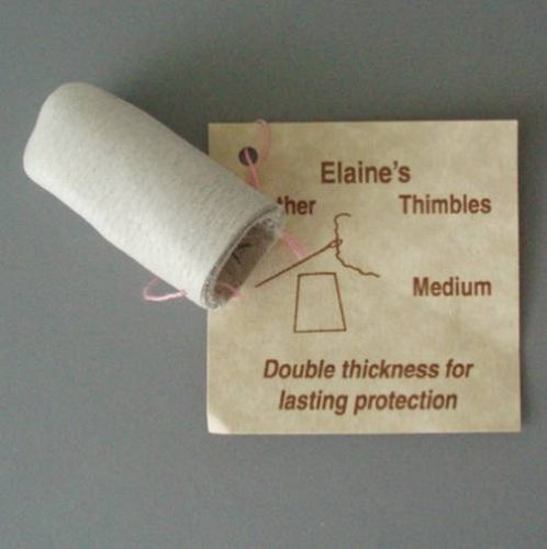 Elaine's Leather Thimble - Medium Considine Creations 7943M