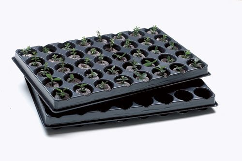 Jiffy Trays - Pack of 2 complete with 80 pellets
