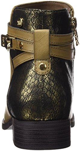 XTI Botin Sra C. Taupe, Zapatos de Tacón con Punta Cerrada para Mujer Beige (Taupe)