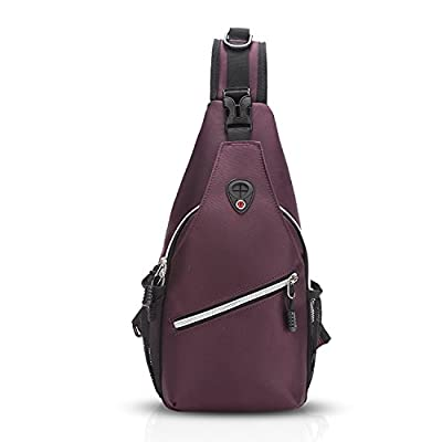 e5a4f0db9ea4 FANDARE Fashion Sling Bag Shoulder Backpack Crossbody Bag Chest Pack Bag  Single One Strap Bag Fanny