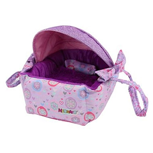 Distroller Neonate Nerlie Medium Bassinet Purple Sparkle Glitter Snowflake Spanish Edition FW2017 by Distroller