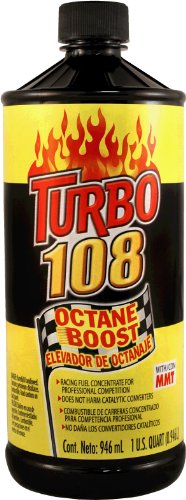Blue Magic NA31-12PK Turbo 108 Octane Boost - 32 fl. oz., (Pack of 12)