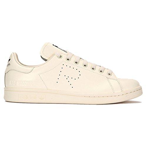 adidas by Raf Simons Unisex Raf Simons Stan Smith Cream White/Cream White/Core Black 7 M UK