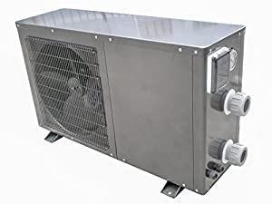 Swimming pool heater electric heat pump small 55 k btu swimming pool heating for Electric swimming pool heaters