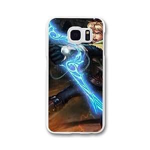 Ezreal K7E7SI5H Caso funda Samsung Galaxy S7 Edge Caja blanco