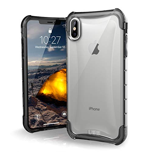 URBAN ARMOR GEAR UAG iPhone Xs Max [6.5-inch Screen] Plyo Feather-Light Rugged [Ice] Military Drop Tested iPhone Case ()