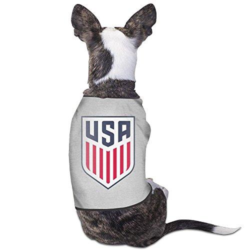 Cute US Soccer Logo Pet Dog T Shirt.